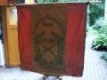Unsere alte Fahne vordere Ansicht