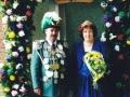 Unser Königspaar 1999/00 Peter & Anette Föcke