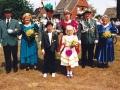 Unser Königspaar 1991/92 Heinz-Josef & Marita Hellen
