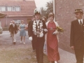 Unser Königspaar 1971/72 Karl Heinz Kösters & Hildegard Dietz