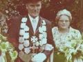 Unser Königspaar 1973/74 Heinrich & Agnes Möddel