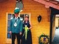 Unser Königspaar 1996/97 Werner & Hanelore Hinken