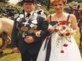 Unser Königspaar 1983/84 Werner Möddel & Helga Lampe